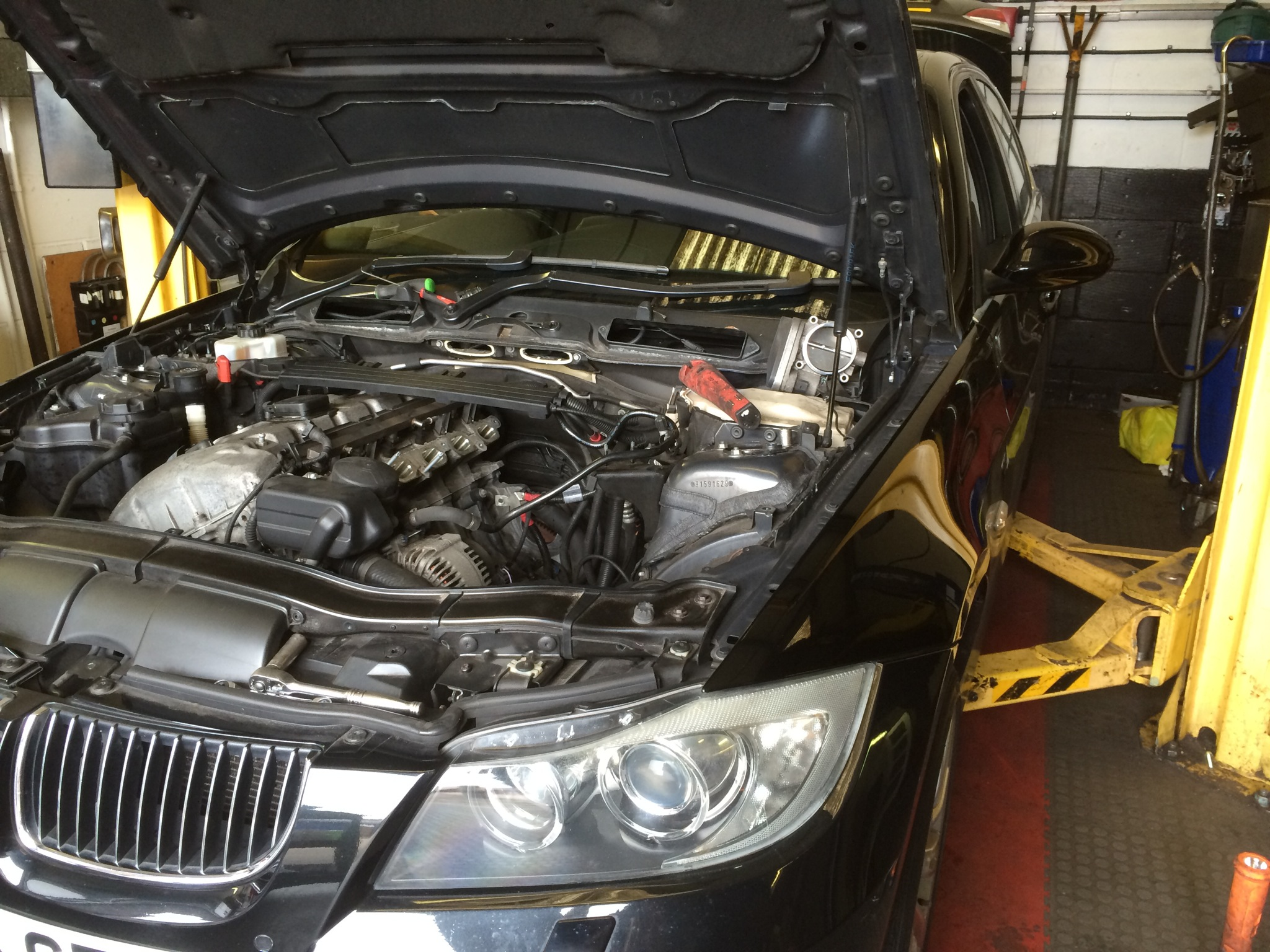 e90 bmw 325i n52 starter motor diy power developments. Black Bedroom Furniture Sets. Home Design Ideas