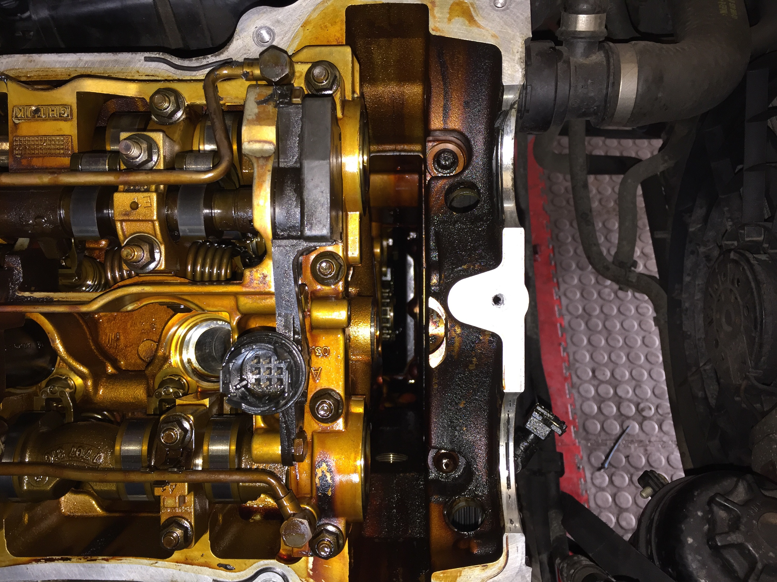 bmw 318ci n42 n46 timing chain replacement